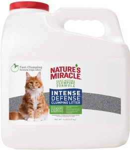 Natures Miracle Intense Defense Clumping Litter 14 lbs - All Pets Store