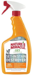Natures Miracle Orange Oxy Stain & Odor Remover 24 oz - All Pets Store