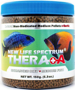 New Life Spectrum Thera A Medium Sinking Pellets 150 g - All Pets Store
