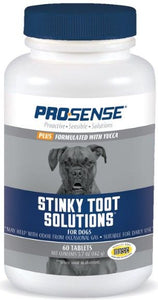 Pro-Sense Plus Stinky Toot Solutions Tablets 60 count - All Pets Store