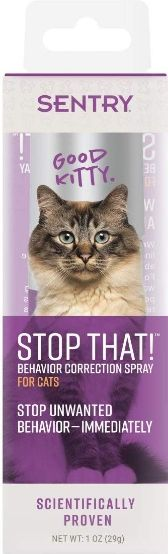 Sentry Stop That! Behavior Correction Spray for Cats 1 oz - All Pets Store