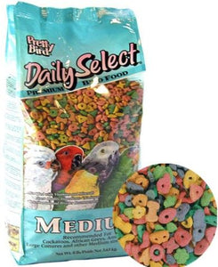 Pretty Bird Daily Select Premium Bird Food Medium - 8 lbs - All Pets Store