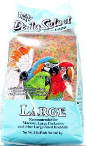 Pretty Bird Daily Select Premium Bird Food Large - 8 lbs - All Pets Store