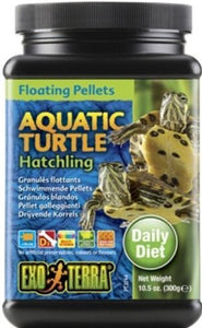 Exo Terra Floating Pellets Aquatic Turtle Hatchling Food 10.5 oz - All Pets Store