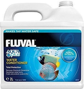 Fluval Aqua Plus Tap Water Conditioner 0.5 gallon