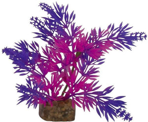 GloFish Plastic Aquarium Plant - Purple/Pink Small - All Pets Store