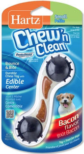Hartz Chew N Clean Dental Bounce & Bite - Bacon Small / Medium - 1 count - All Pets Store