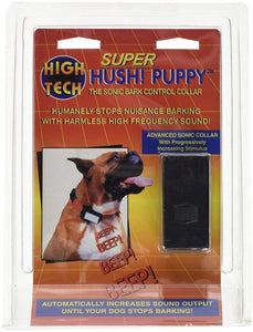 High Tech Pet Super Hush Puppy Sonic Bark Control Collar 1 count