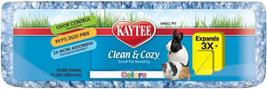 Kaytee Clean & Cozy Small Pet Bedding - Blue 8 L - All Pets Store