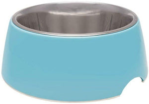 Loving Pets Electric Blue Retro Bowl 1 count - Medium - All Pets Store