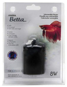 Marina Betta Submersible Aquarium Heater 8 watt - All Pets Store