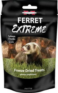 Marshall Ferret Extreme Salmon Chunks Freeze Dried Ferret Treat .3 oz - All Pets Store