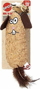 Spot Corkies Hug N Kick Cat Toy with Cat Nip - Assorted Characters 1 count - All Pets Store
