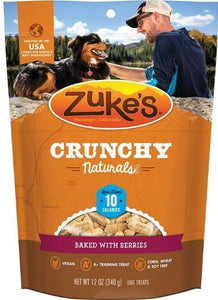 Zukes Crunchy Naturals Baked with Berries 12 oz