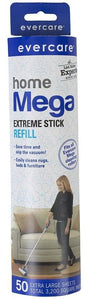 Evercare Mega Cleaning Roller Refill  50 count - All Pets Store
