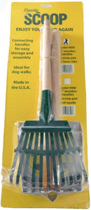 Flexrake Scoop and Steel Rake Set with Wood Handle - Small 1 count - All Pets Store