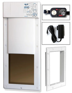 High Tech Pet PX-1 Power Pet Fully Automatic Pet Door 1 count - All Pets Store