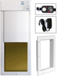 High Tech Pet PX-2 Power Pet Fully Automatic Pet Door 1 count - All Pets Store