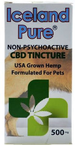 Iceland Pure CBD Enhanced Calming & Pain Relieving Product for Dogs 500 mg - All Pets Store