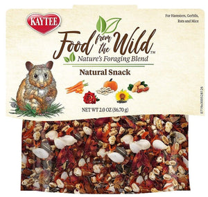 Kaytee Food From The Wild Treat Medley Hamster / Gerbil 2 oz - All Pets Store