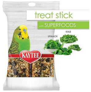 Kaytee Superfoods Avian Treat Stick - Spinach & Kale 5.5 oz - All Pets Store