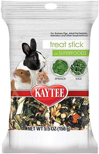 Kaytee Superfoods Small Animal Treat Stick - Spinach & Kale 5.5 oz - All Pets Store