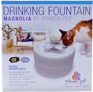 Pioneer Pet Magnolia Shape Fountain 1 count - All Pets Store