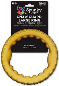 Spunky Pup Gnaw Guard Ring Foam Dog Toy Large - 1 count