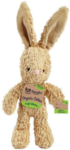 Spunky Pup Organic Cotton Bunny Dog Toy Small - 1 count