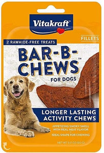 Vitakraft Bar-B-Chews Fillets Dog Treat 3.17 oz