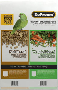 ZuPreem VeggieBlend Flavor Bird Food for Large Birds 17.5 lb - All Pets Store