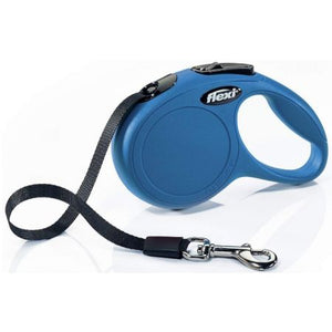 Flexi Classic Blue Retractable Dog Leash X-Small 10' Long - All Pets Store