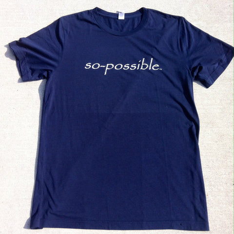 men's so-possible t-shirt (navy)