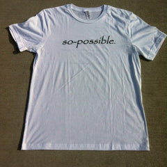 men's so-possible t-shirt (grey)
