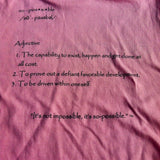 women's so-possible t-shirt (pink)