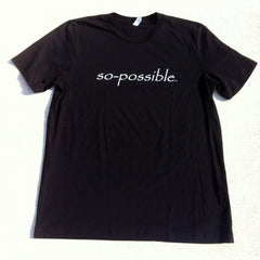 men's so-possible t-shirt (black)