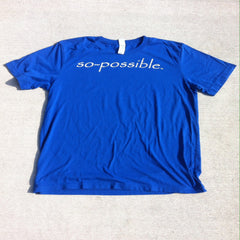 men's so-possible t-shirt (blue)