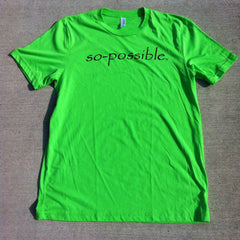 men's so-possible t-shirt (green)