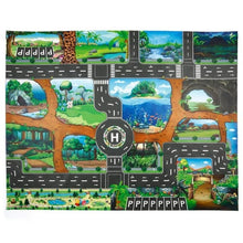 Load image into Gallery viewer, Dinosaur Traffic Road Kids Baby Crawling Play Mat Chidren Game Floor Carpet Pad World Transport Map Pattern Design