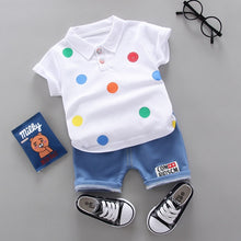 Load image into Gallery viewer, 2020 fashion infant Suits Baby Clothing Set for Boys Girls Cute Summer Casual Clothes Set Giraffe Top+Shorts Kids Clothes