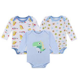 Near Cutest 3pcs/lot Baby Set Newborn Baby Cloting Long Sleeve Cotton Underwear Infant Boys Girls Clothes