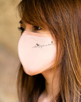 Triple Layer Reusable Cotton Fabric Face Mask for Antimicrobial & Anti-Dust [LARGE]