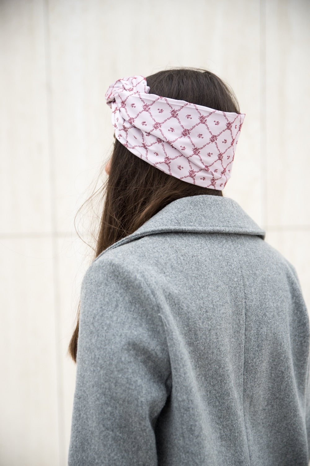 Formable Headband French White
