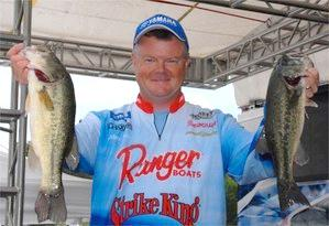 Mark Rose wins the FLW Series event on Lake Chickamauga