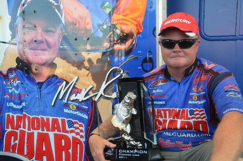 Mark Rose Wins FLW Tour at Pickwick