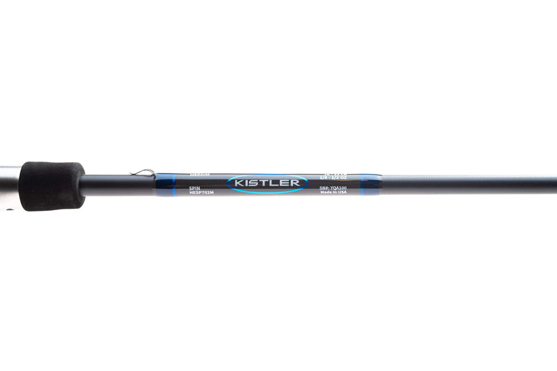 Kistler Helium Rod, Helium Fishing Rod, Bass Fishing, Kistler Rods Hookset with Helium