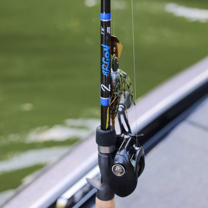 Kistler Argon Rod, Fishing Rod, Bass Fishing Rod, Kistler Rods, Kistler Argon on Boat Deck