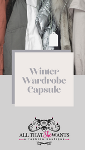 The Ultimate Guide to a Winter Wardrobe Capsule