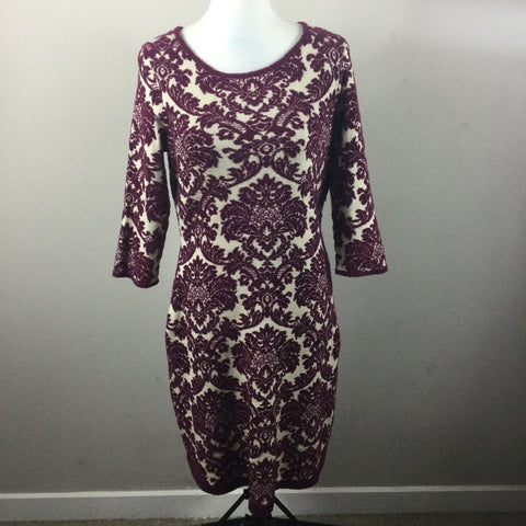 Gabby Skye 3/4 Sweater Dress NEW Medium