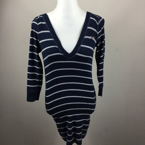 Hollister v neck knit dress